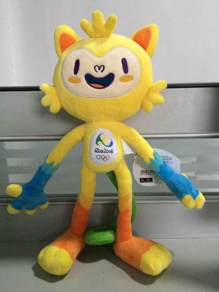 2016里约奥运会吉祥物公仔