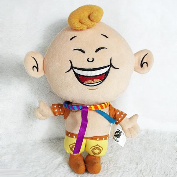 毛绒玩具批发厂家定制企业广告促销礼品笑脸吉娃娃玩偶