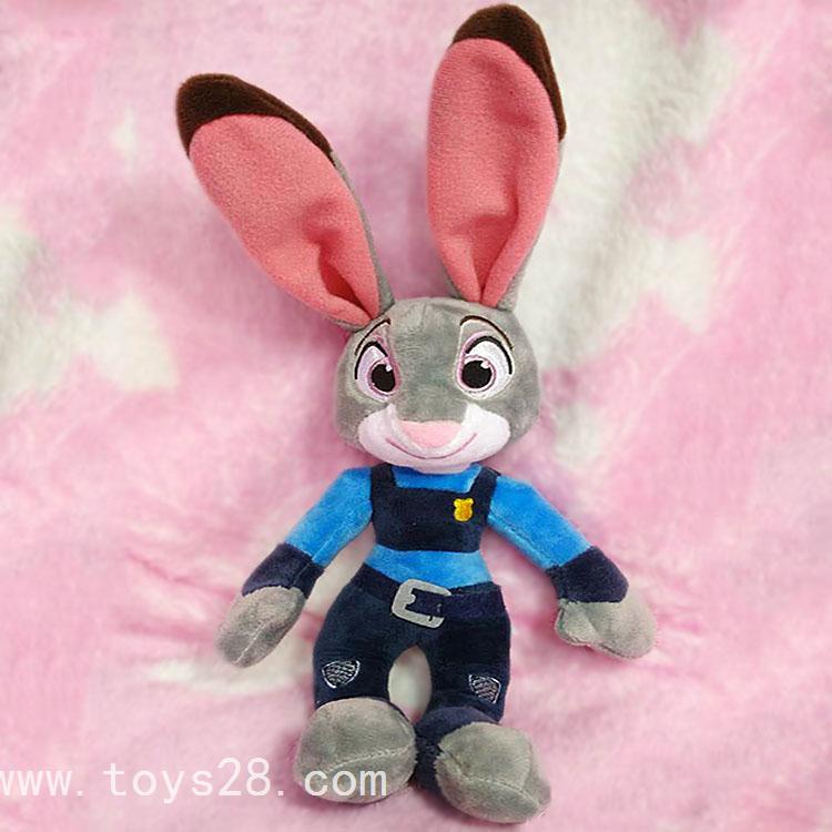 迪士尼疯狂动物城朱迪兔judy动漫公仔